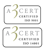 Againity now ISO 9001 & 14001 certified