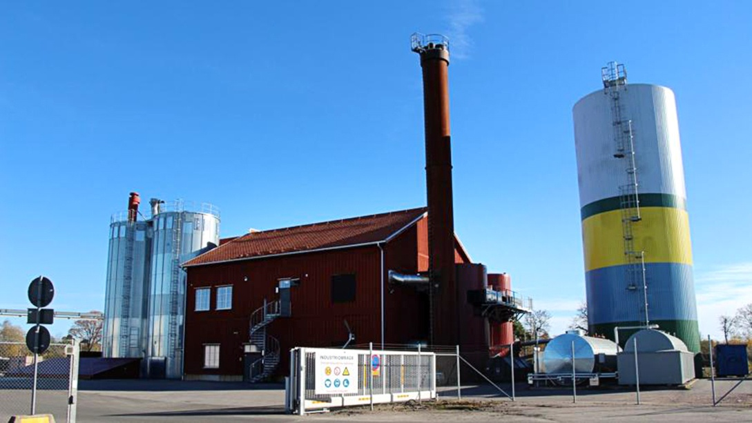Mariestads-Tidningen writes about the new ORC turbine
