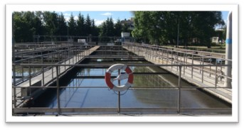 Order to waste water treatment plant