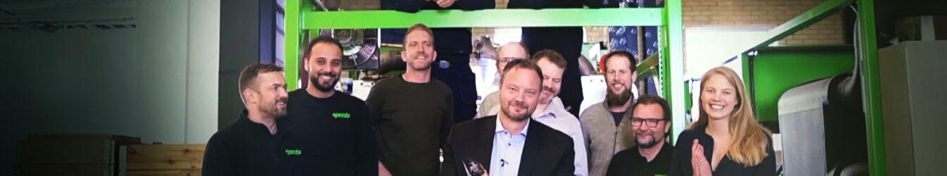 We won DI Gasell 2020 Award in Östergötland
